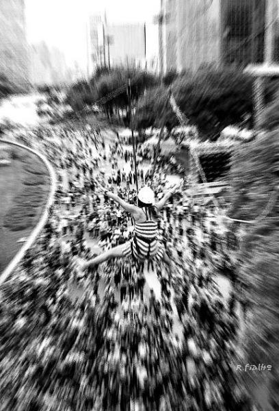 Tirolesa - Viaduto do Chá © Rosângela Fialho Photography