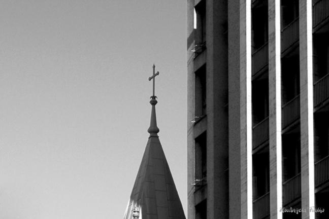 Detalhe, vista centro de São Paulo Brasil