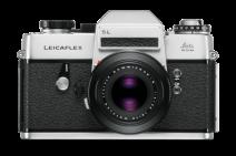 1968 - O Leicaflex SL é a câmera do mundo primeira single-lens reflex com medição seletiva, o que poderia ser precisamente limitado e, em seguida, exibido no visor, para medir a exposição através da lente - ou seja, no micro, macro ou normal, assim como faixas distantes.