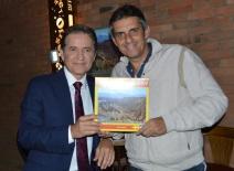 FJornalista Carlos Tramontina e o Jornalista e fotógrafo Paulo Greca