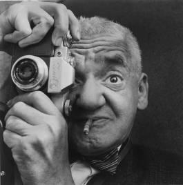 'Weegee the Famous', Richard Sadler, 1963. Museum no. E.2879-1995. © Richard Sadler