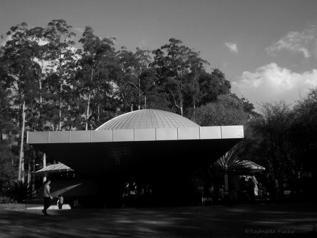 Planetário, Parque do Ibirapuera, São Paulo, Brasil.