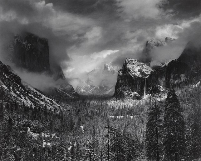Ansel Adams (1902–1984), Clearing Winter Storm, Yosemite National Park, California, 1938.
